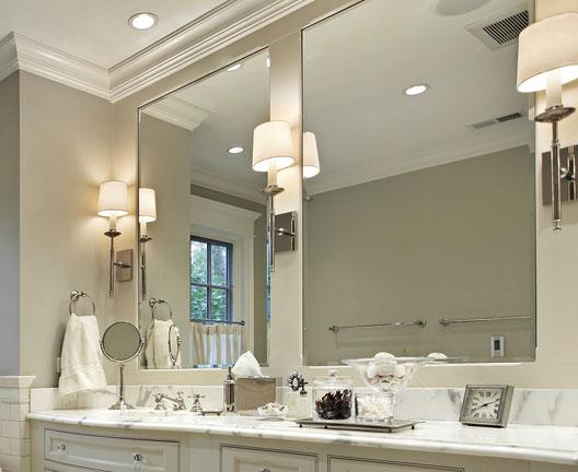 C mo iluminar un espejo de ba o todo sobre l mparas e for Focos para espejos de bano
