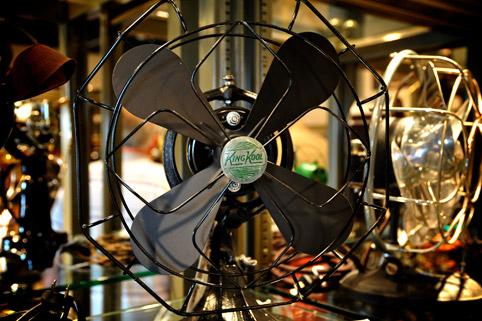 El nico museo de ventiladores del mundo todo sobre - Ventiladores de techo antiguos ...