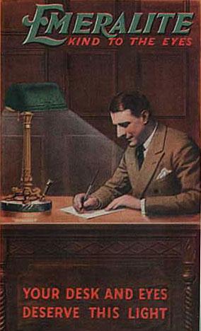La lámpara de banuero Emeralite