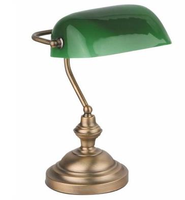 Lámpara banquero