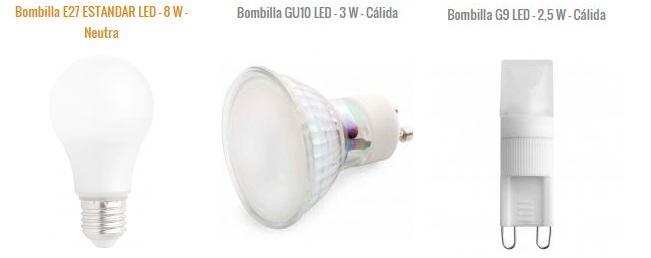 Ahorrar en la factura de la luz con Bombillas led